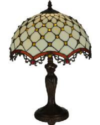 Diamond  Jewel Table Lamp by