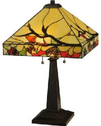 Woodland Berries Table Lamp by