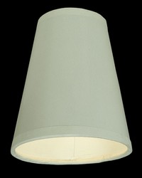 4in W X 4.75in H Parchment White Shade 137120 by