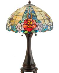 Rose Vine Table Lamp 138121 by