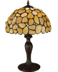 Jasper Yellow Table Lamp by