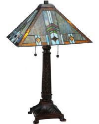 Prairie Wheat Sunshower Table Lamp by