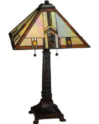 Prairie Wheat Harvest Table Lamp by