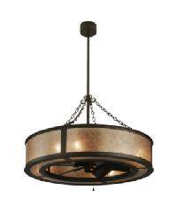 Smythe Craftsman Silver Mica Chandel-Air 138838 by