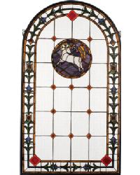 Lamb Of God Stained Glass Window by