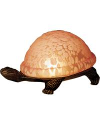 Turtle Art Glass Accent Lamp 18005 by