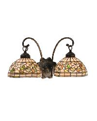 Turning Leaf 2 Lt Wall Sconce 18717 by