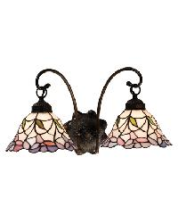Daffodil Bell 2 Lt Wall Sconce 18725 by