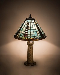 23in  High Lighthouse Table Lamp by