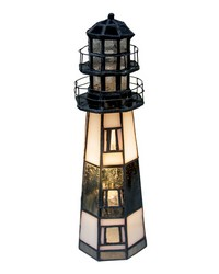 9.5in H The Lighthouse on Montauk Point Accent Lamp 20537 by