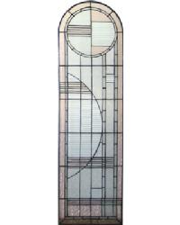 Arc Deco Right Sided Stained Glass Window 22869 by