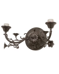 16in W Victorian 2 LT Wall Sconce Hardware 27061 by