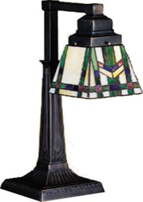 Meyda Tiffany Prairie Wheat Desk Lamp  Arts and Crafts