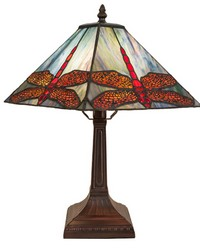 15.5in High Prairie Dragonfly Accent Lamp 28396 by