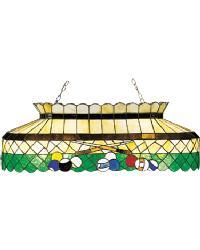 Green Billiards Light by