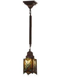 5.5in Sq Cottage Mission Mini Pendant 29333 by