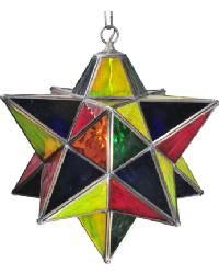 Moravian Star Pendant 30059 by