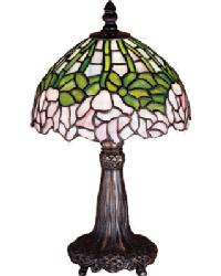 Cabbage Rose Mini Lamp 30312 by