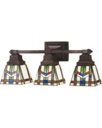 Prairie Wheat Three Light Vanity by