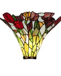 14.5in W Tulip Torchiere Shade by