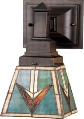 Meyda Tiffany Comanche Wall Sconce  Arts and Crafts