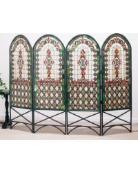 Quatrefoil Classical Room Divider 48808 by