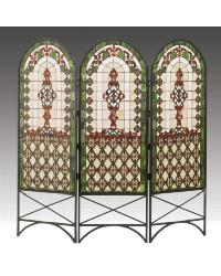 Quatrefoil Classical Room Divider 48809 by