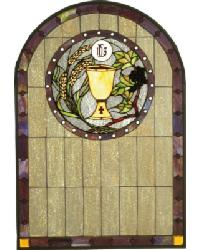 Sacrament Stained Glass Window by