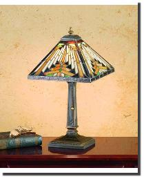 Nuevo Mission Accent Lamp 66231 by