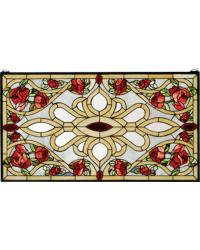 Bed Of Roses Stained Glass Window 67139 by