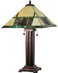 Pinecone Ridge Table Lamp 67851 by