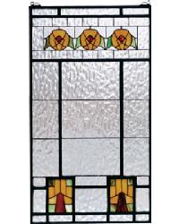 Aurora Dogwood Stained Glass Window 68104 by