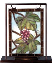 Nappa Vintage Lighted Mini Tabletop Window by