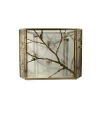 Lone Pine Folding Fireplace Screen by