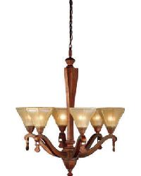 Oakland 6 Lt Chandelier 71447 by
