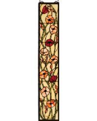 Tiffany Poppy Stained Glass Window 73266 by