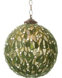 Mistletoe Ball Pendant by
