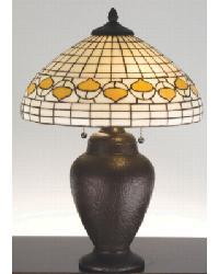 Tiffany Acorn Table Lamp 82152 by