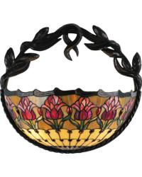 Colonial Tulip Wall Sconce 82298 by