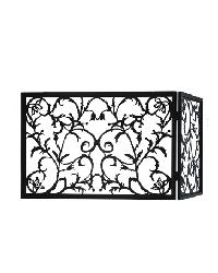 Vine Folding Fireplace Screen by