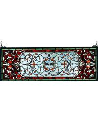 Versaille Transom Stained Glass Window by