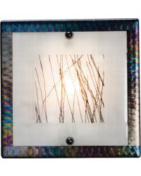 Silkwood Fused Glass Sconce 99278 by
