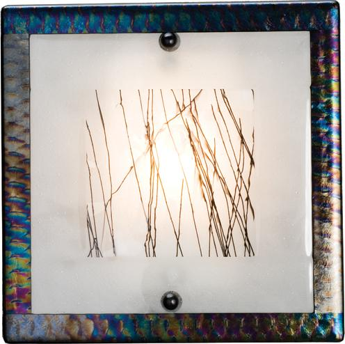 Silkwood Fused Glass Sconce Meyda Tiffany Interiordecorating