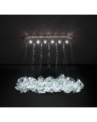 Oval Cloud Chandelier by