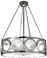Mercer 24in High Chandelier by