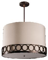 Astoria 20in Round Pendant by