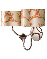 Roots Double Arm Sconce by