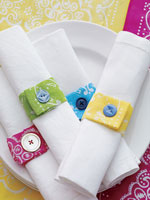 Fabric Napkin Rings
