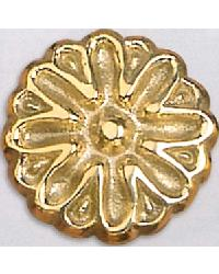 Sand Dollar Brass Rosette by
