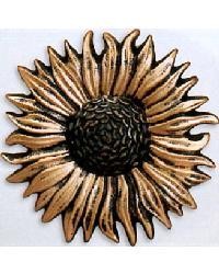 True Sunflower Steel Rosette by